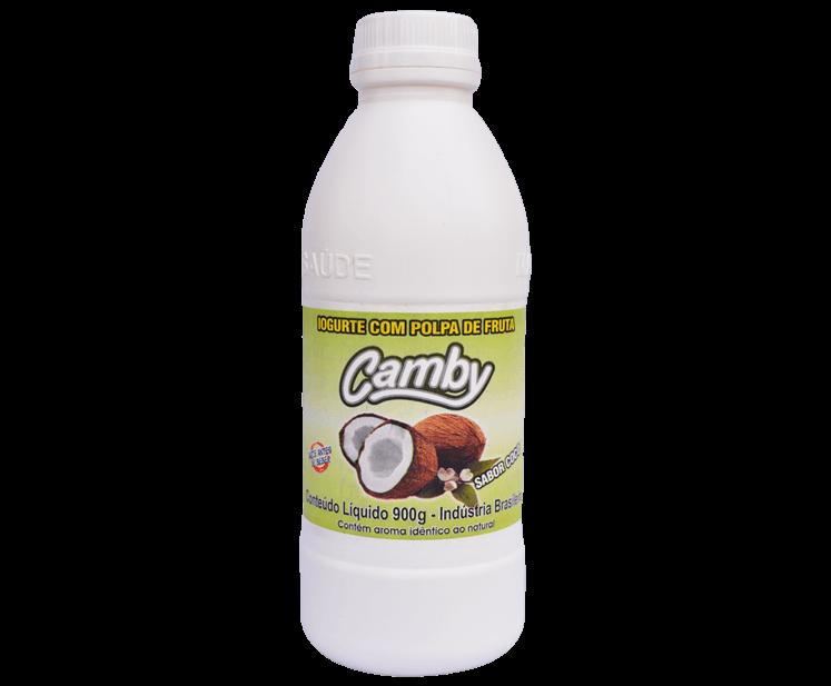 Iogurte com polpa de fruta - Coco